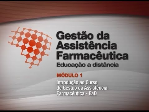 Curso online grátis de Introdução à Gestão da Assistência Farmacêutica