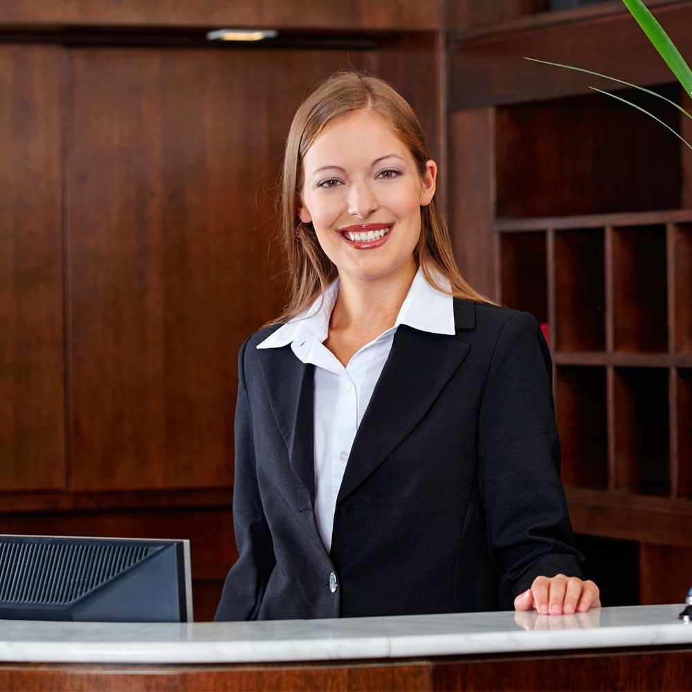 Curso online grátis de Recepcionista de Hotel Profissional