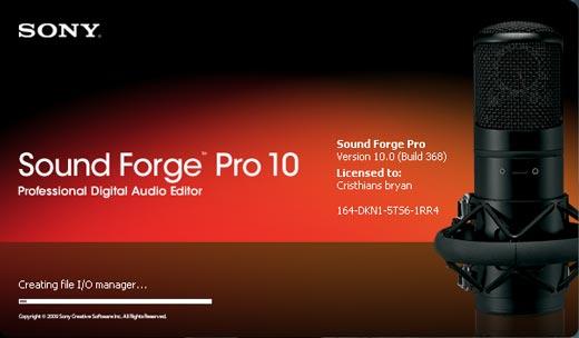 Curso online grátis de Sound Forge Pro 10