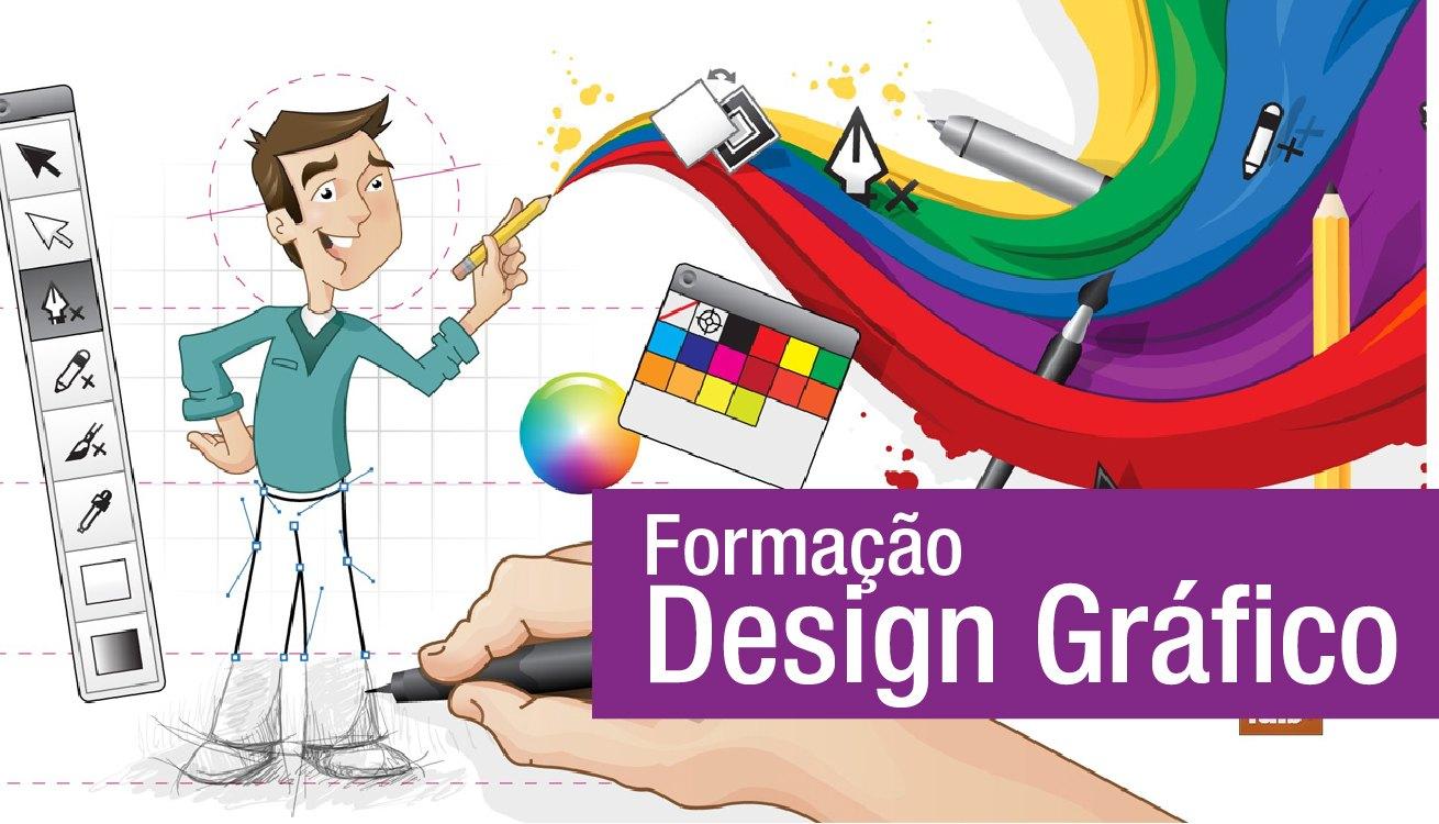 Curso online grátis de Design Gráfico