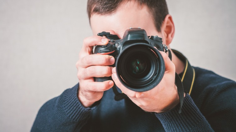 Curso online grátis de Fotógrafo
